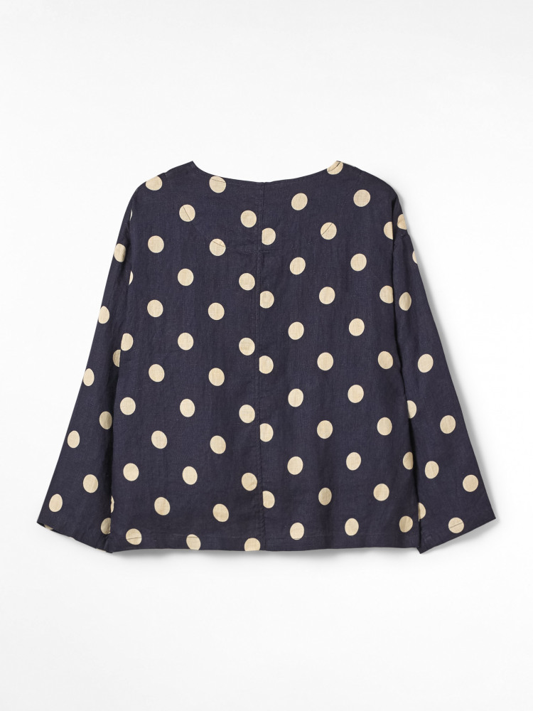 Jessica Linen Spotty Jacket