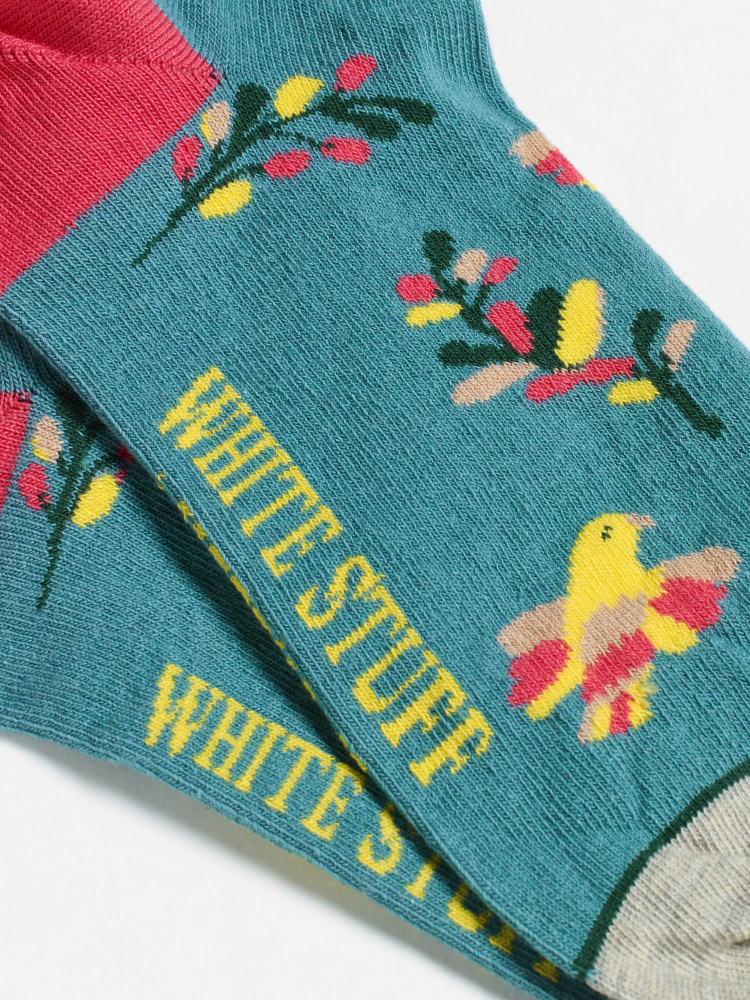 Polly Parrot Trainer Sock 2 Pack