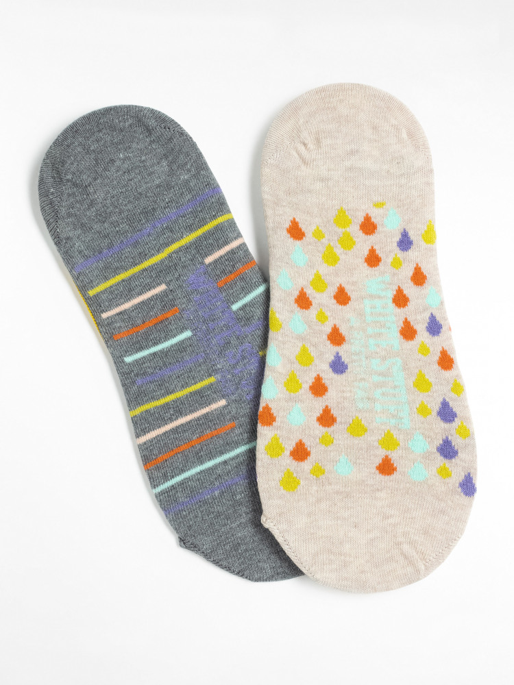 April Showers Footsie 2 pack