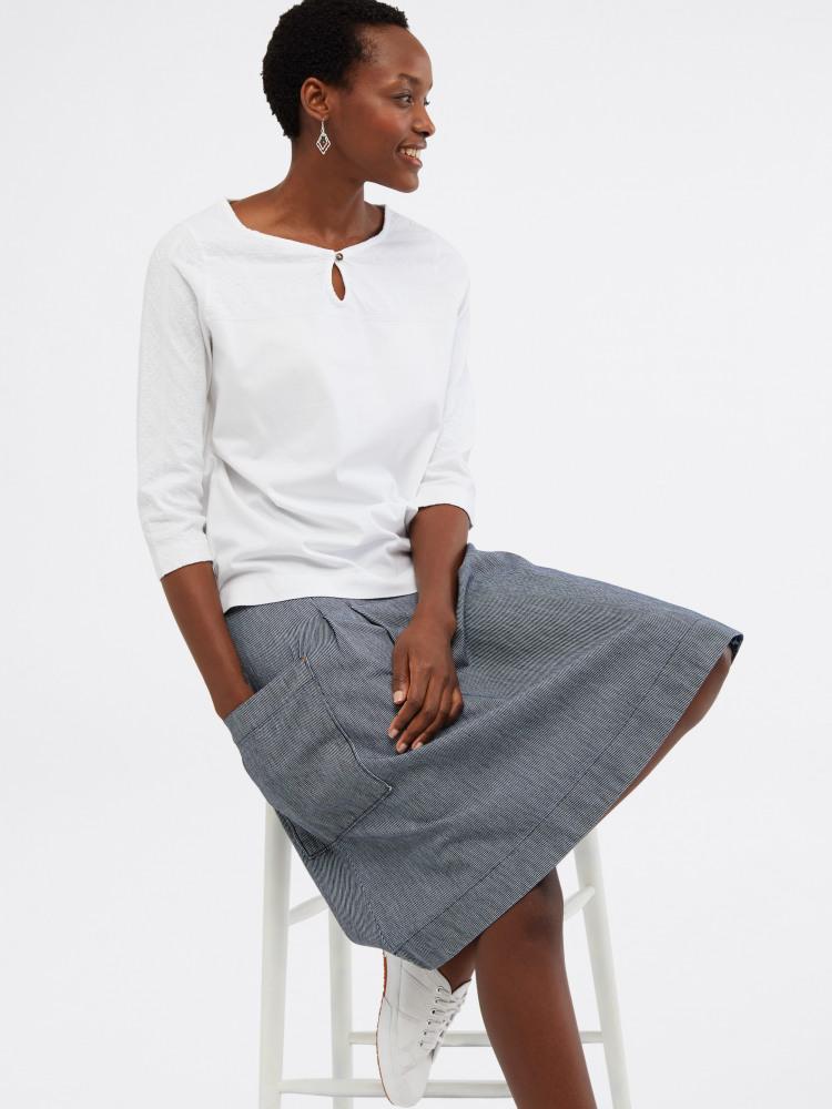 Charlie Stripe Skirt