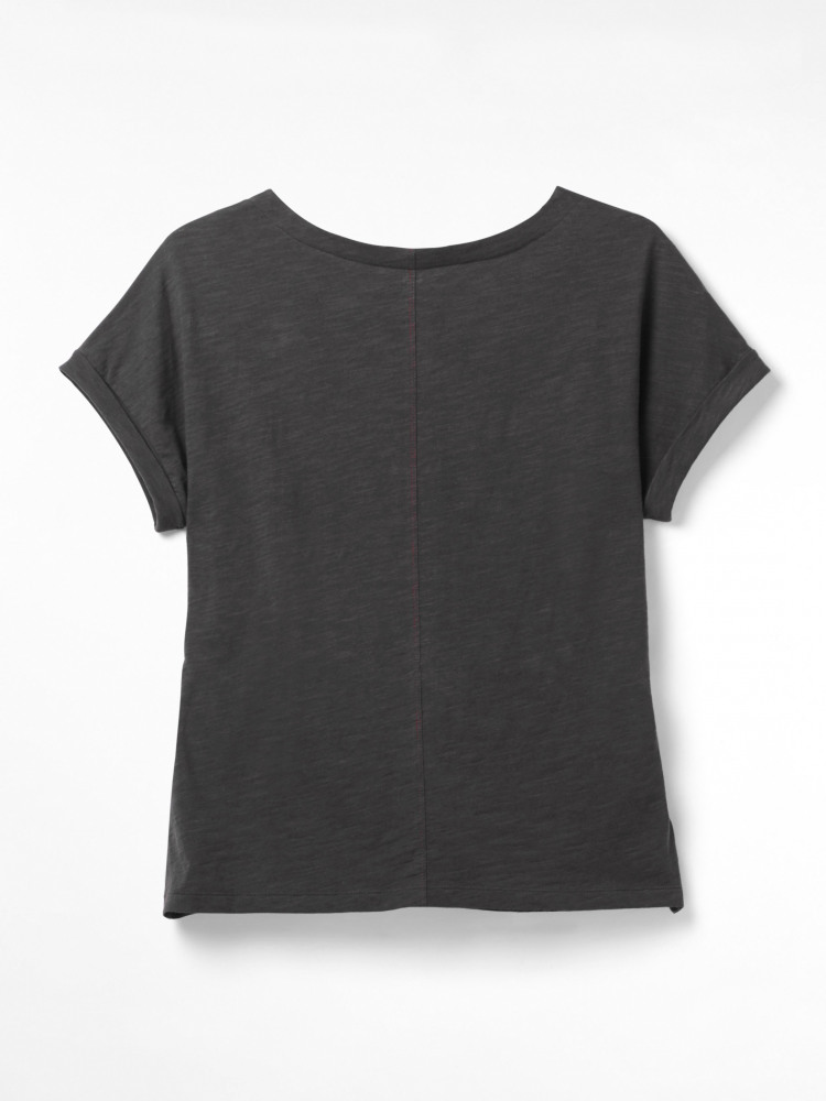 Belted Jersey Tee