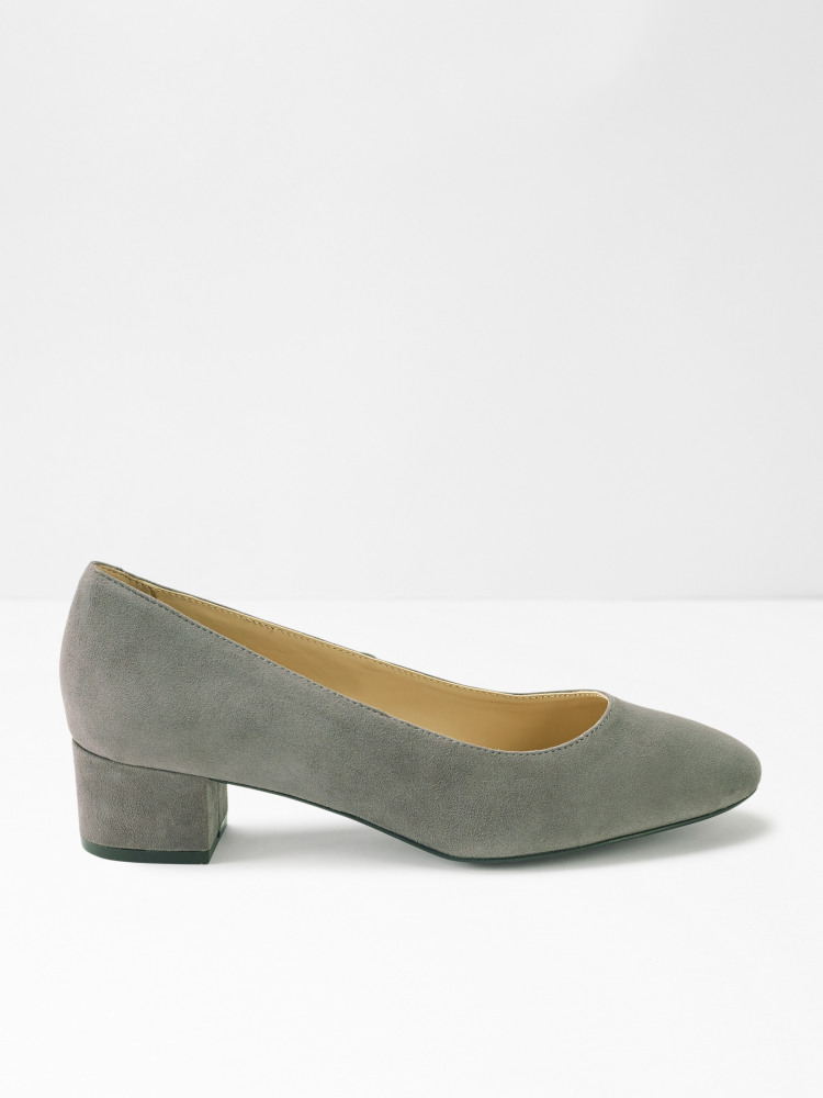 Lois Low Court Block Heels