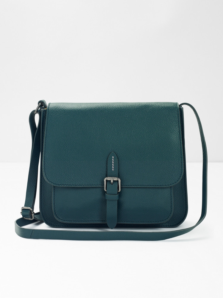 Emma Leather Crossbody