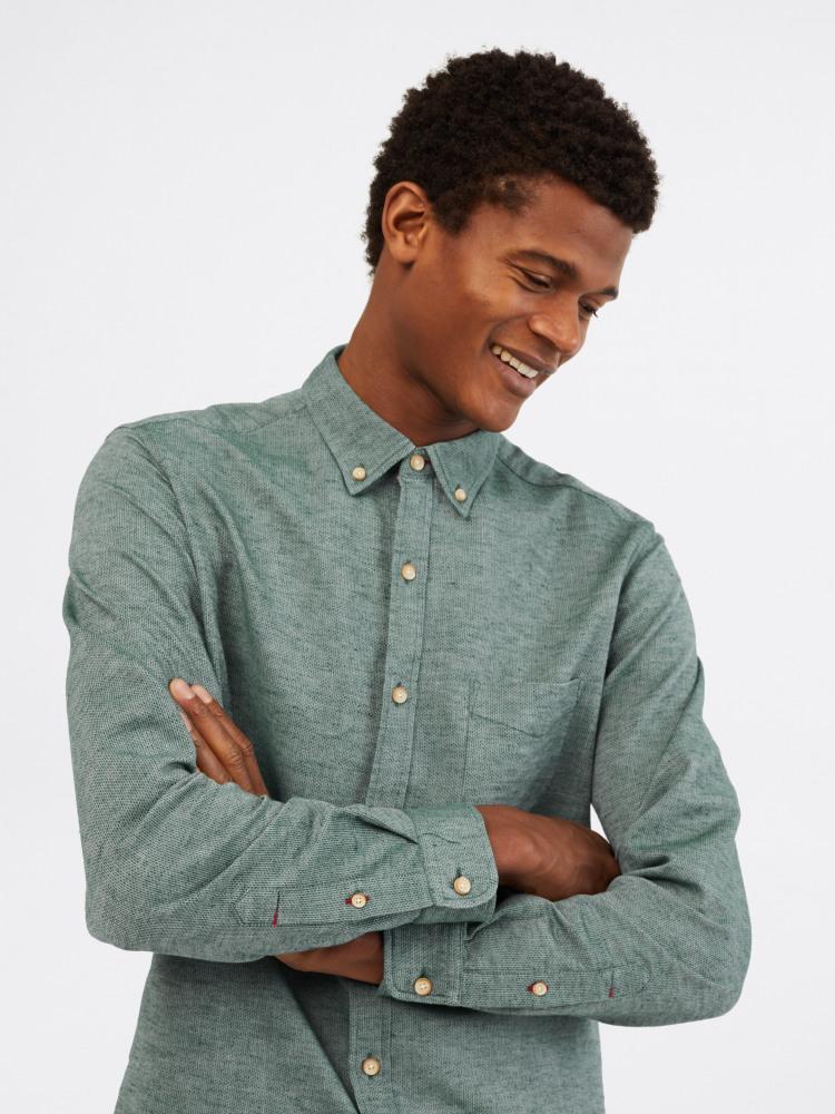 Ainsdale Cotton Linen Shirt