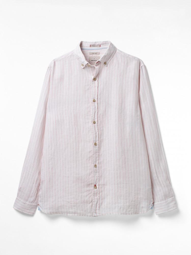 Parrel Stripe Linen Shirt