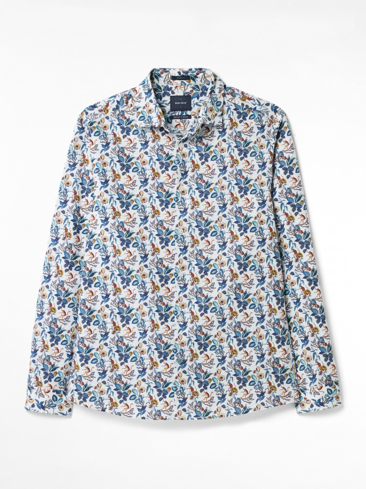 Monkeys Print Shirt