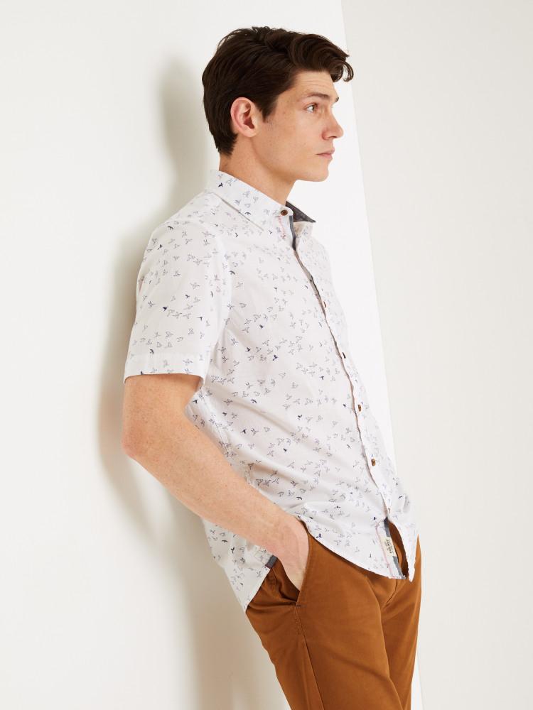 Newport Origami Print Shirt