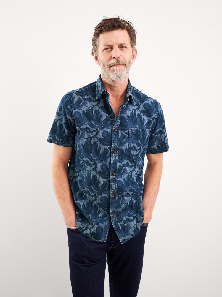 Tahiti Hawaiian Print Shirt