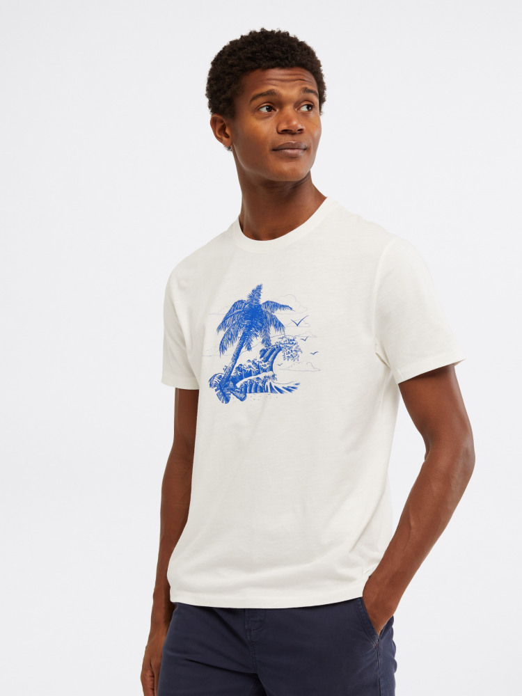 Desert Island Wave Graphic Tee