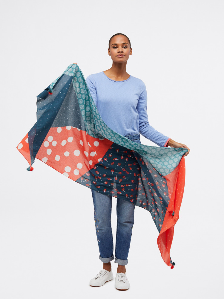 Carrie Organic Cotton Scarf