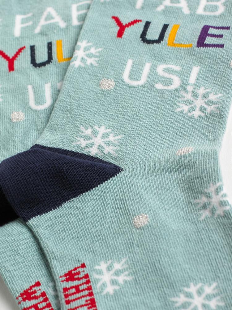 Fab Yule Us Sock