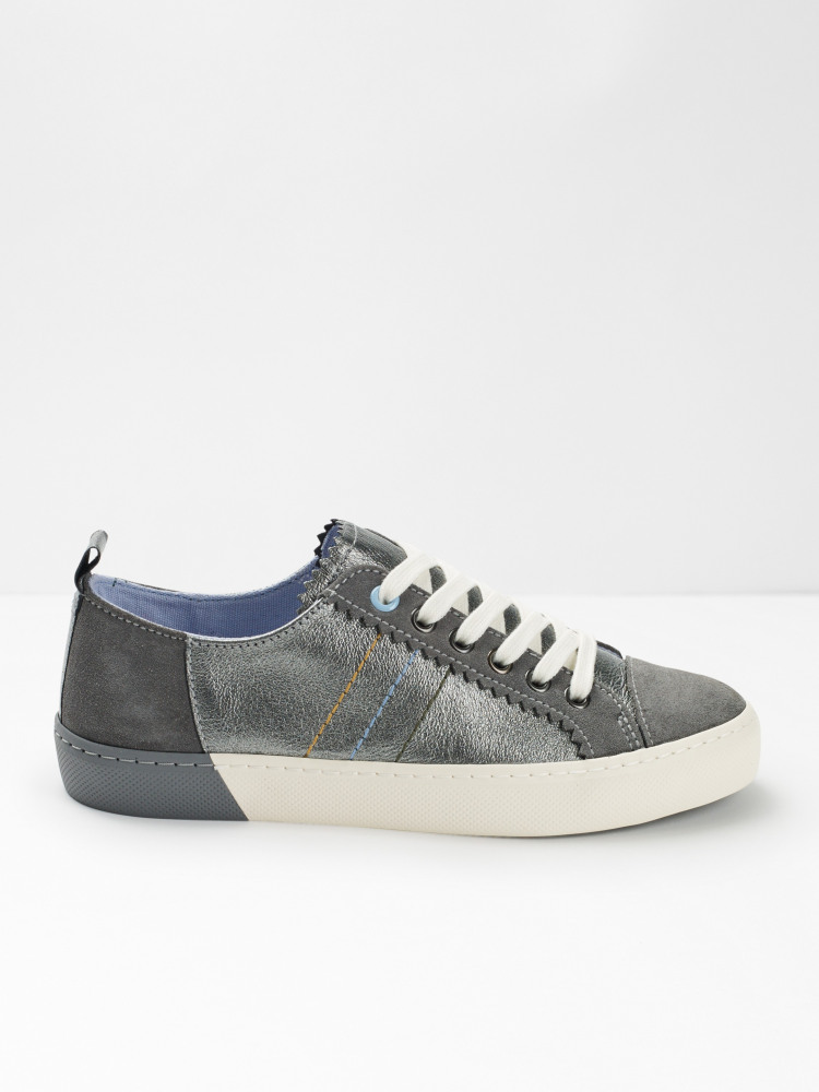 Alana Leather Lace Up Trainer