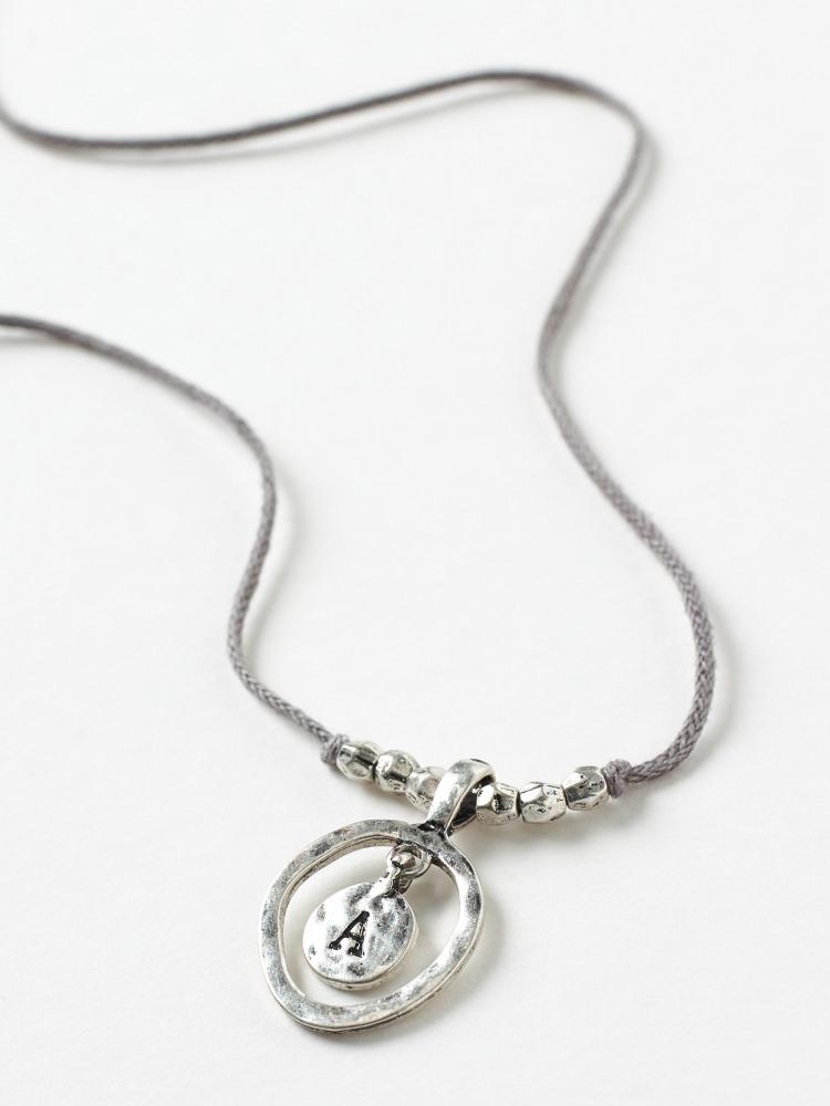 Alphabet Letter Necklace A