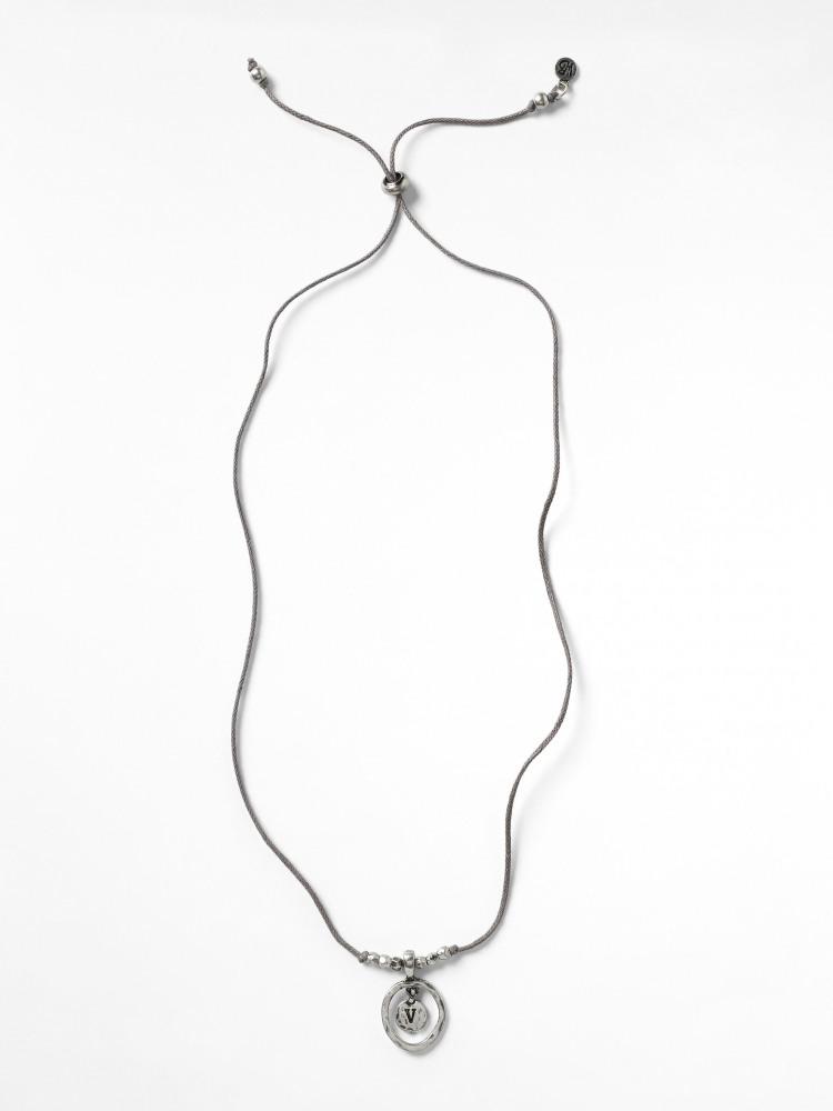 Alphabet Letter Necklace V
