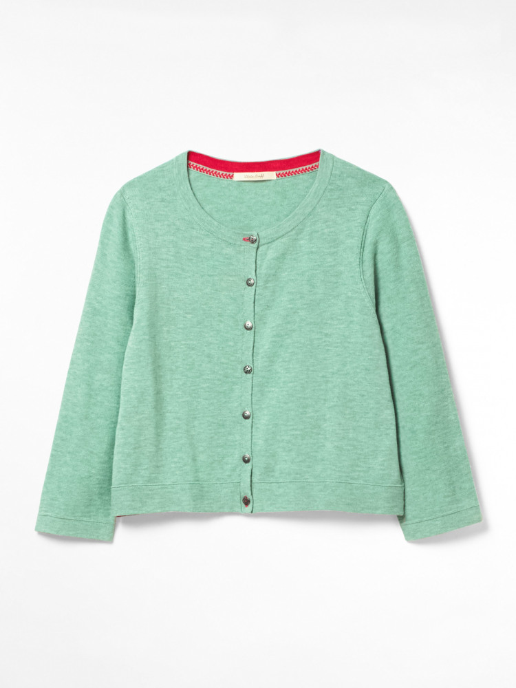 Press Organic Cotton Cardi