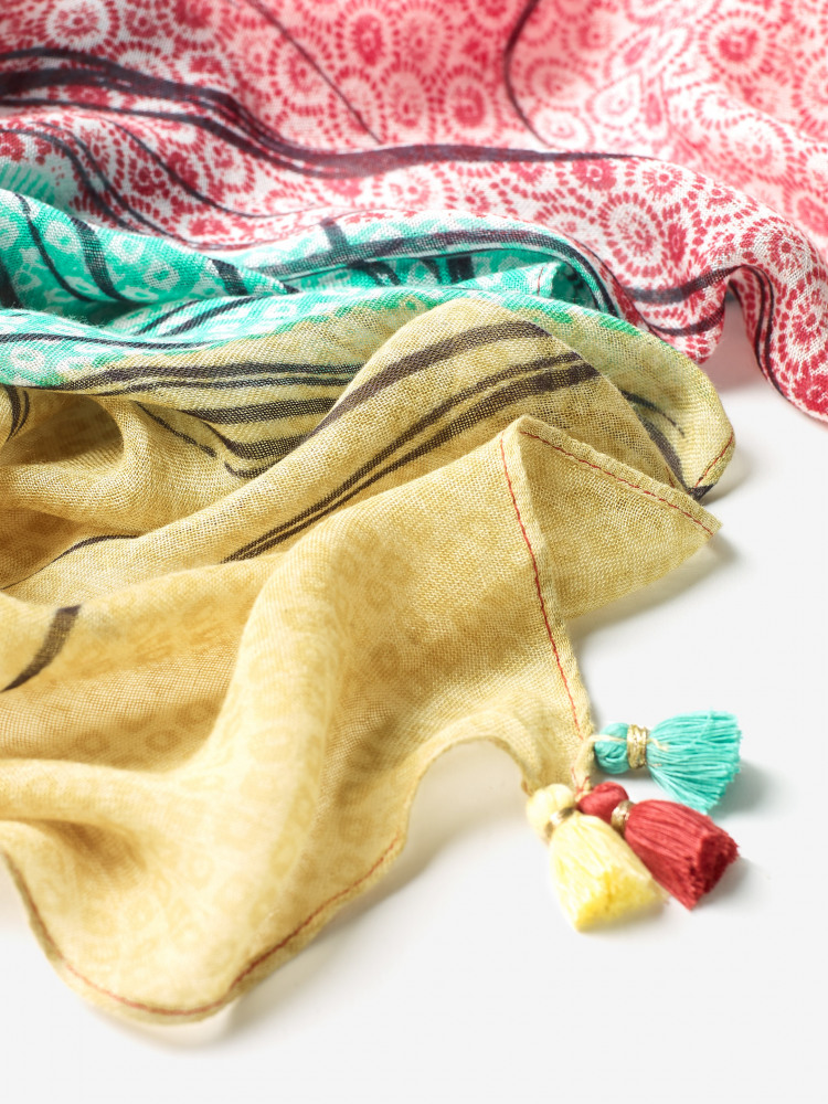 Maggie Printed Modal Scarf