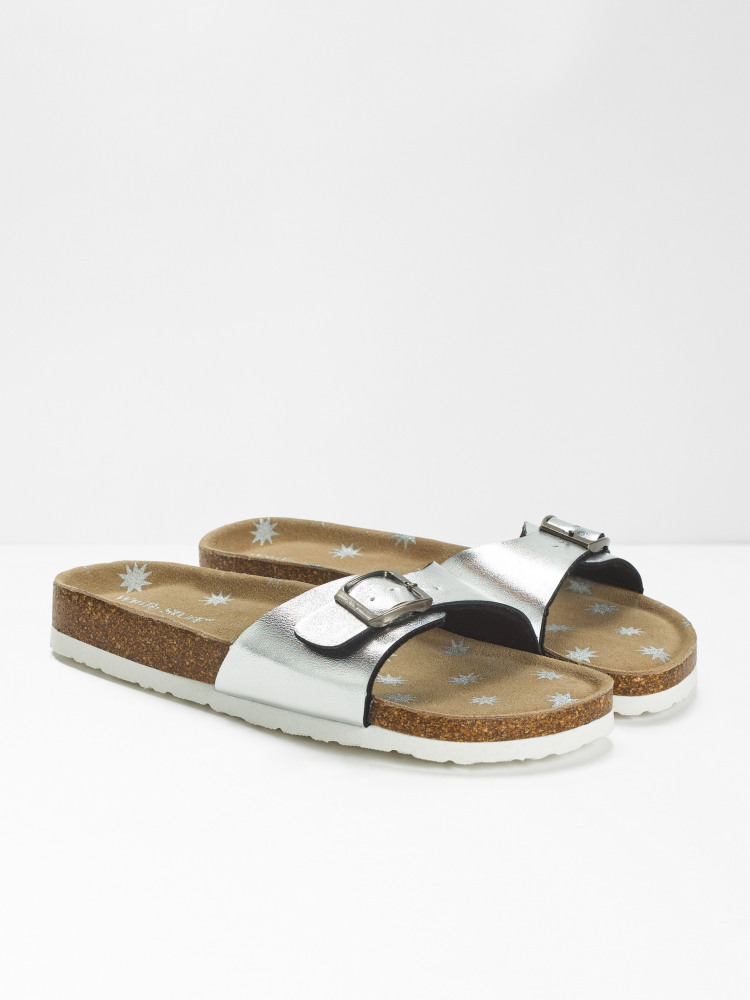 Single Strap Printed Footbed