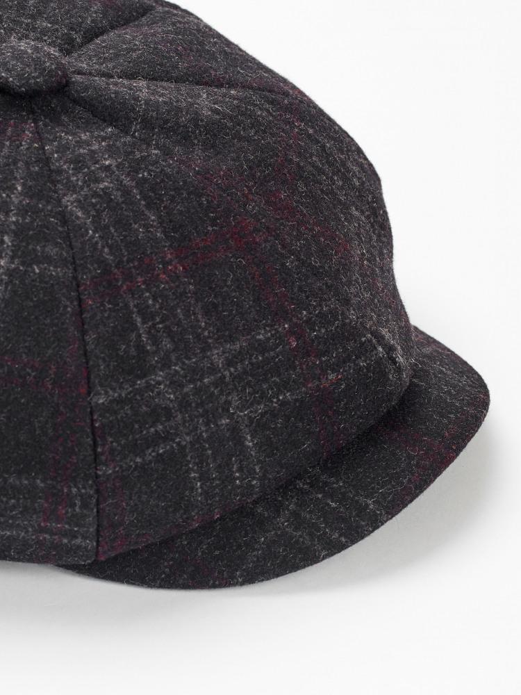 Wool Blend Baker Boy Hat