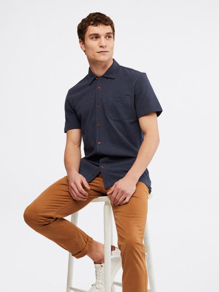 Hillside Pique Jersey Shirt