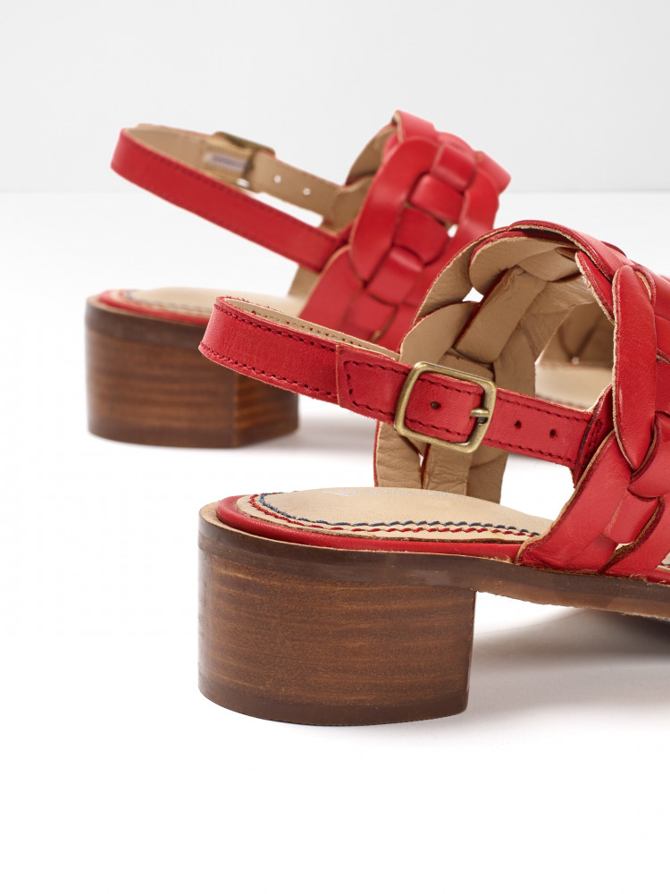 Libby Low Block Heel Sandal