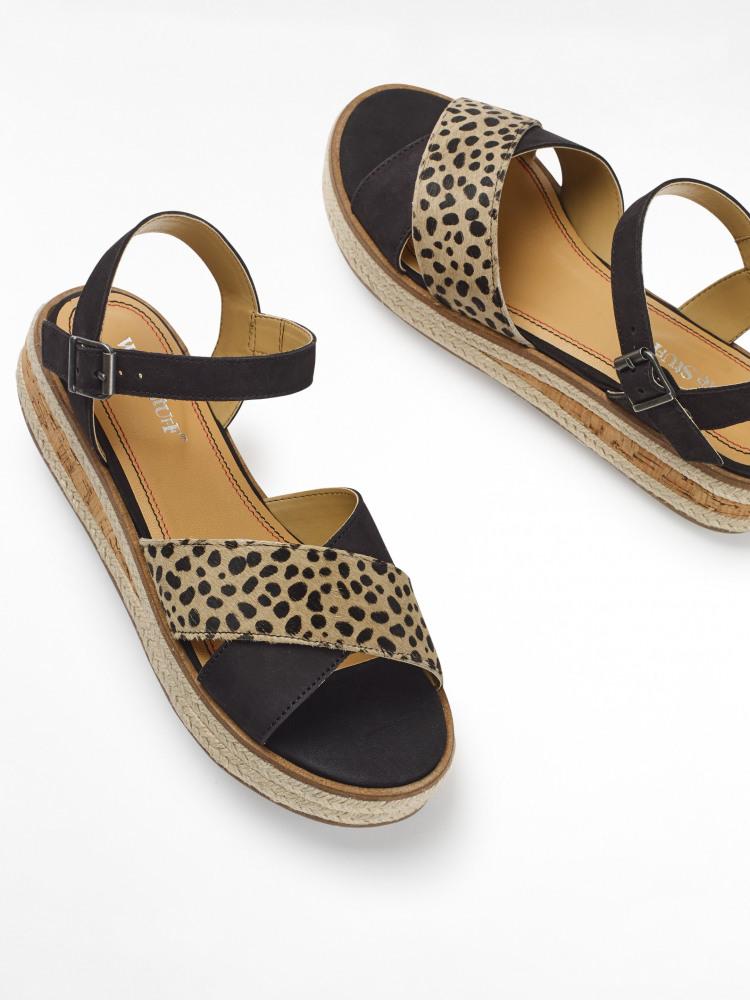 Zena Jute Flatform Sandal