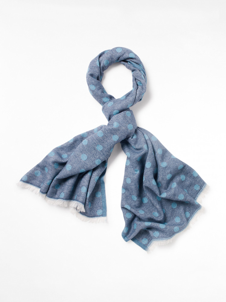 Spot Recycled Midweight Scarf