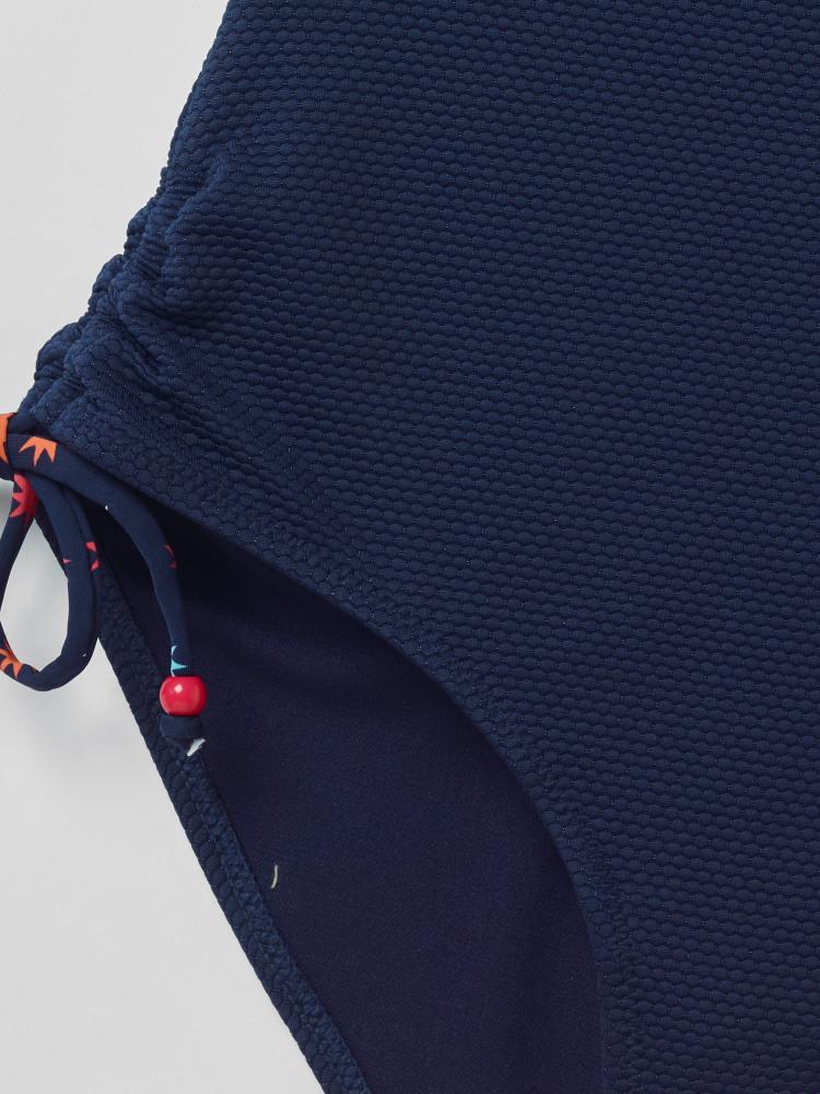 Textured Twist Bust Swimsuit