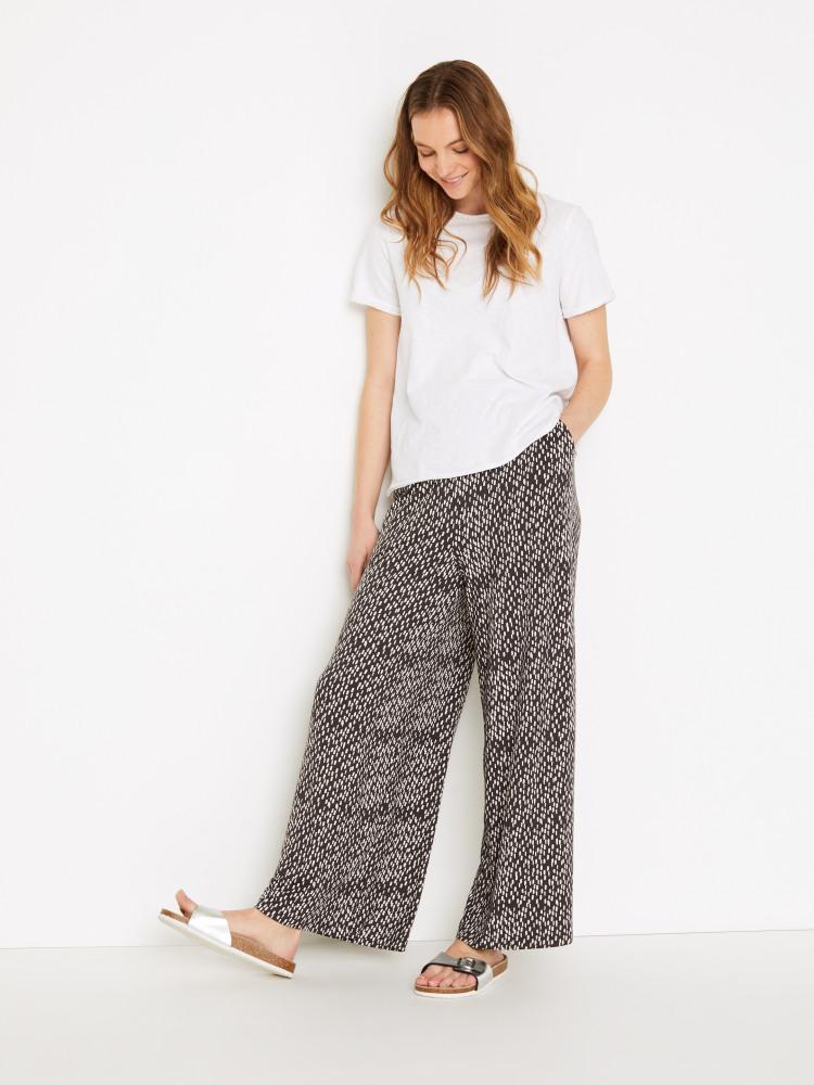 Bagdale Jersey Wide Leg Trouser