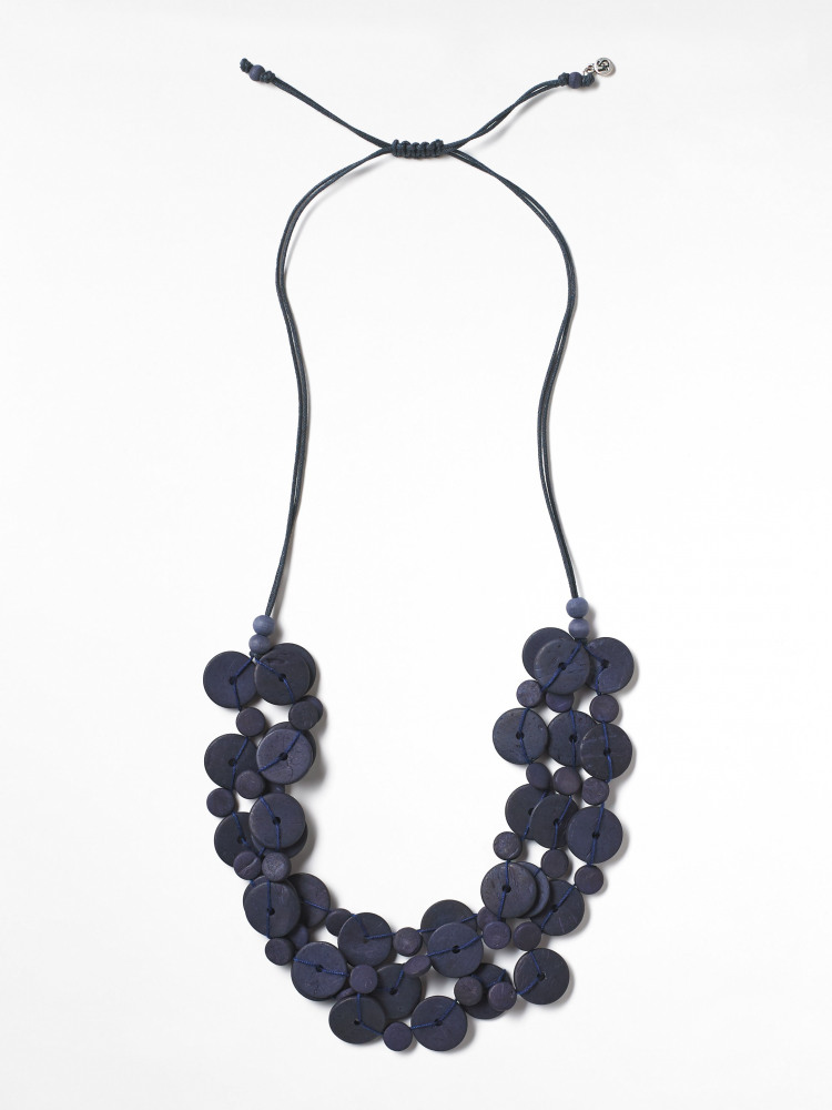 Veronica Layered Cord Necklace