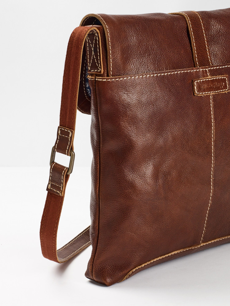 Issy Eco Leather Tab Crossbody