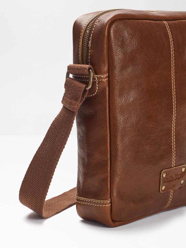 Eco Buzz Leather Crossbody