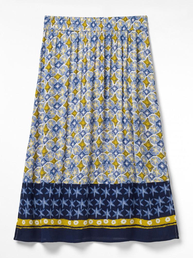 Artisu Border Maxi Skirt