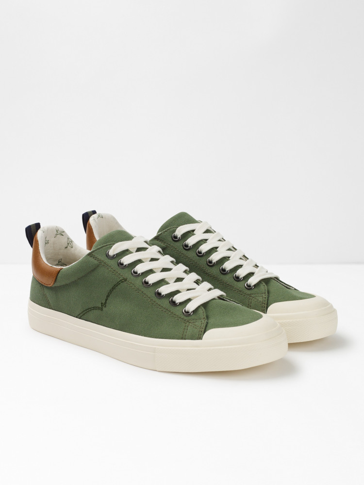 Mens Canvas Trainers