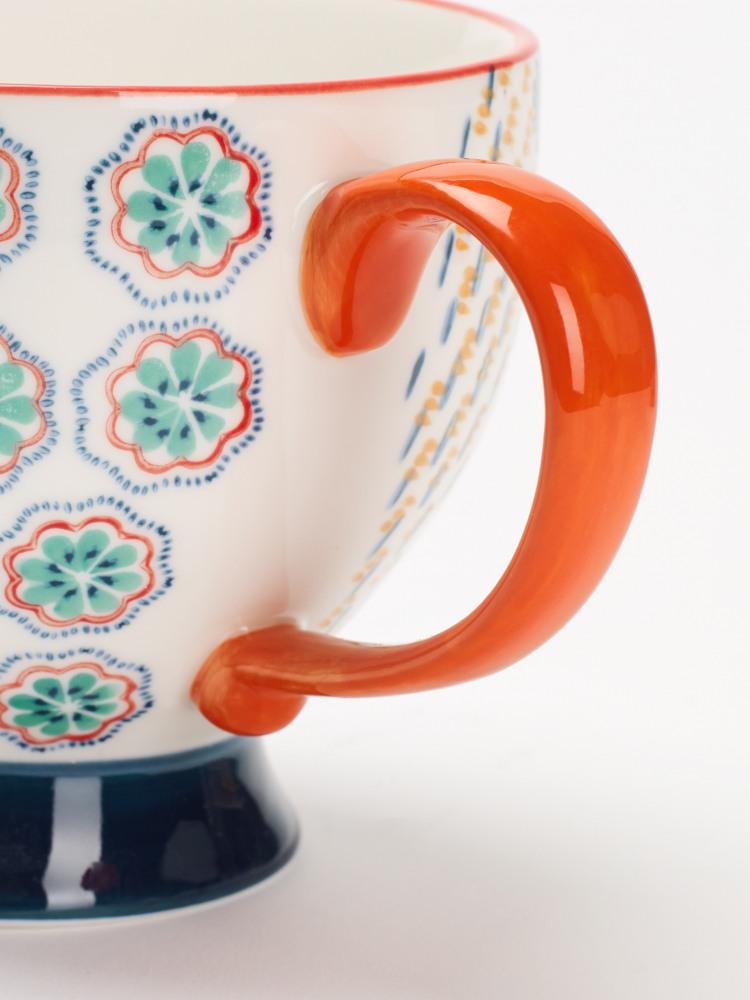 Decorative Stamp Mug