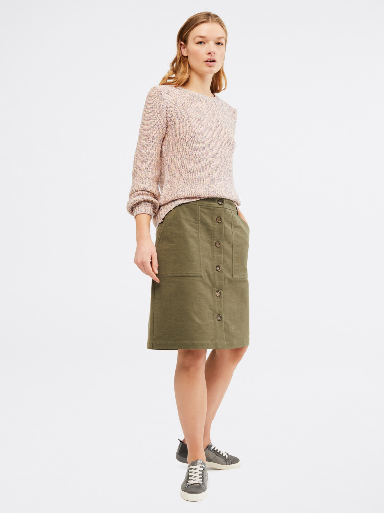 Manhattan Twill Skirt