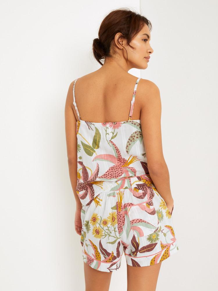Floral Kilim Textured Short