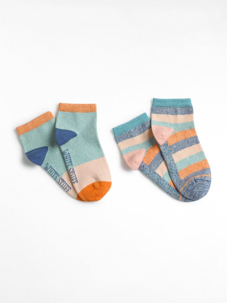 Marl Trainer Sock 2 Pack