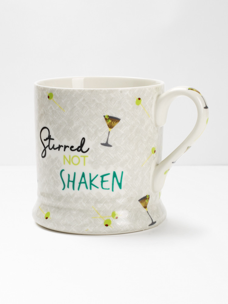 Stirred Not Shaken Mug