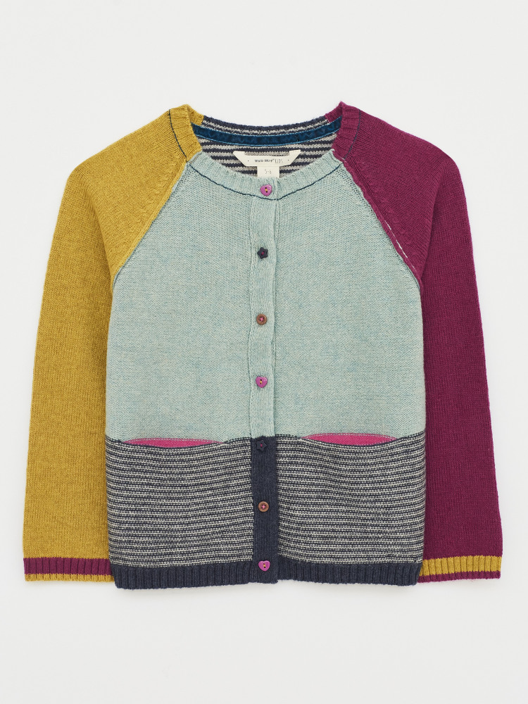 Clara Colourblock Cardigan