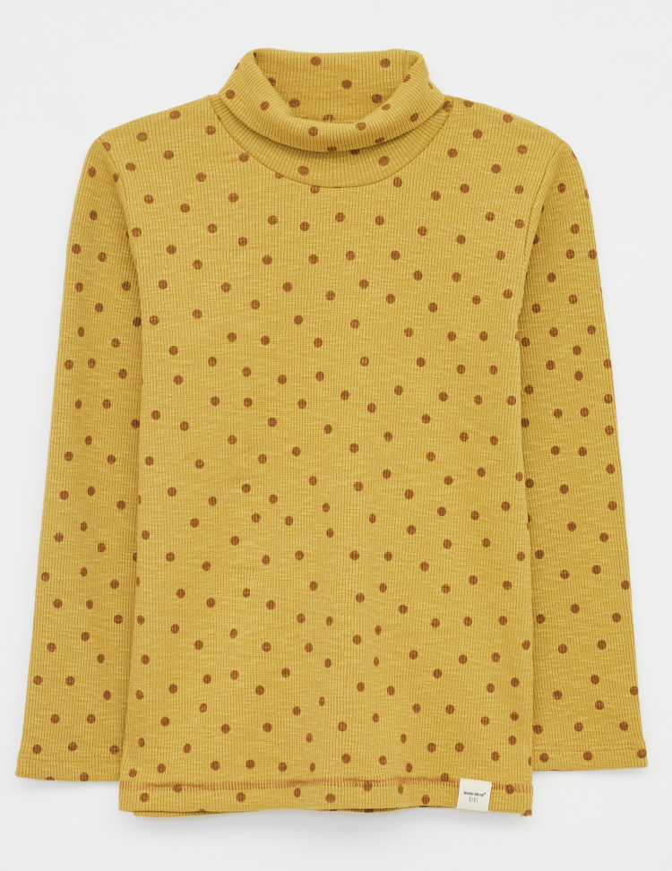 Rebecca Turtle Neck Jersey Top
