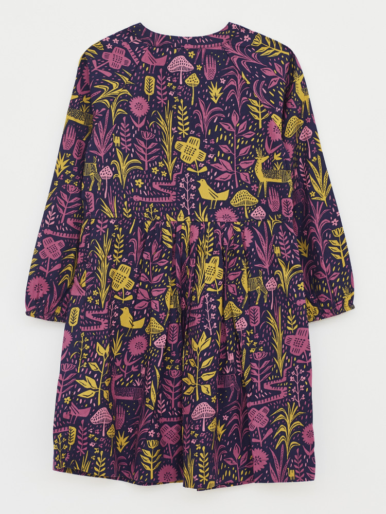 Woodland Gathering Shirt Dress