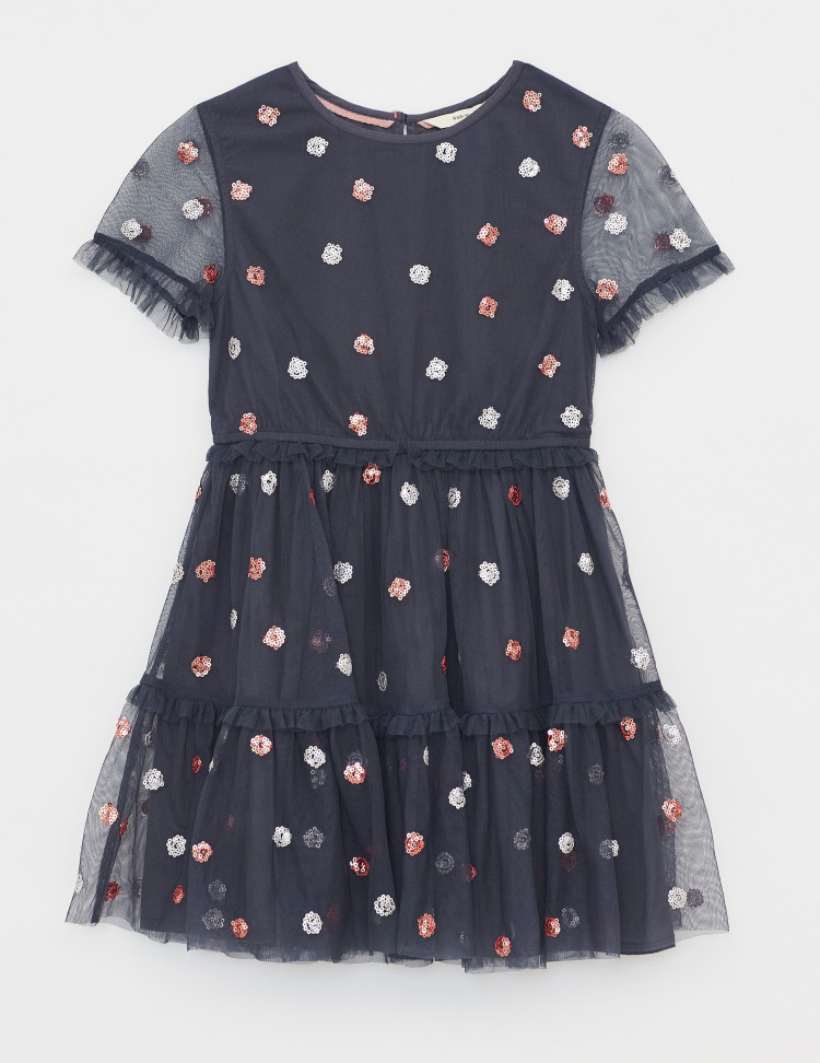 Spotty Tulle Party Dress