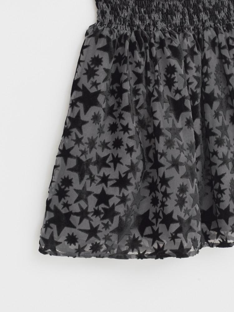Superstar Burnout Velvet Skirt
