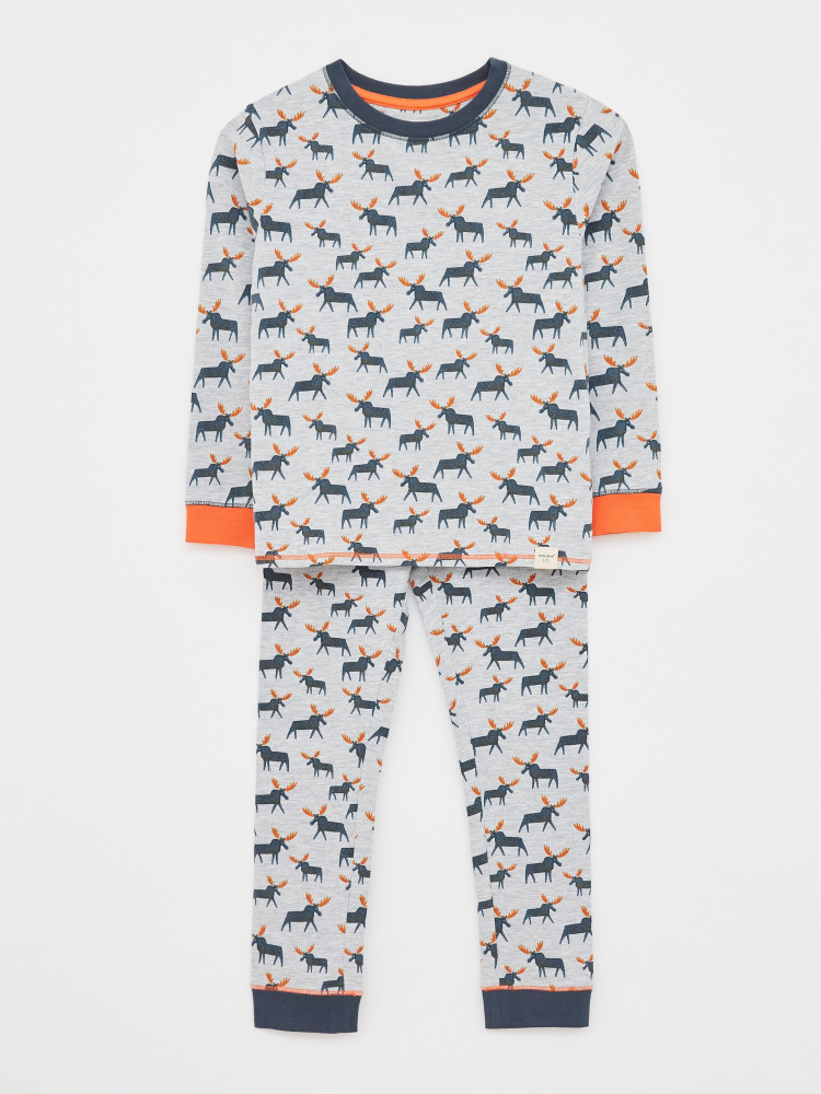 Mighty Moose Jersey PJ Set