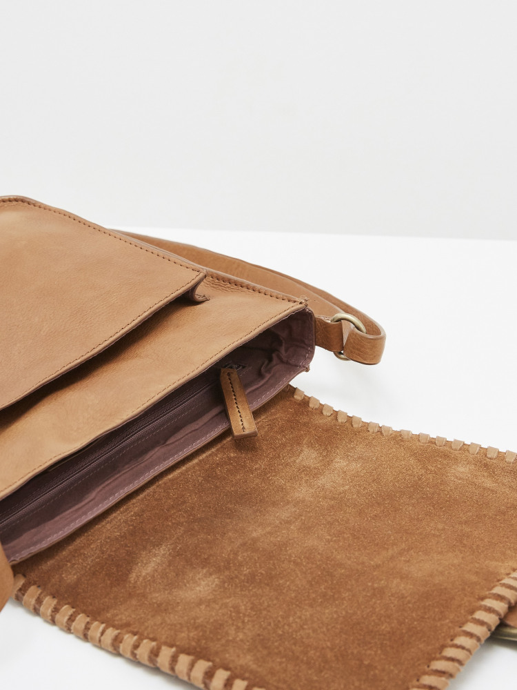 Emma Weave Crossbody Bag