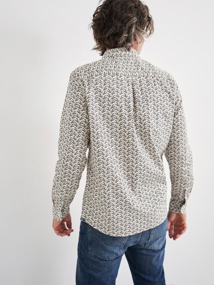 Partridge Print Shirt