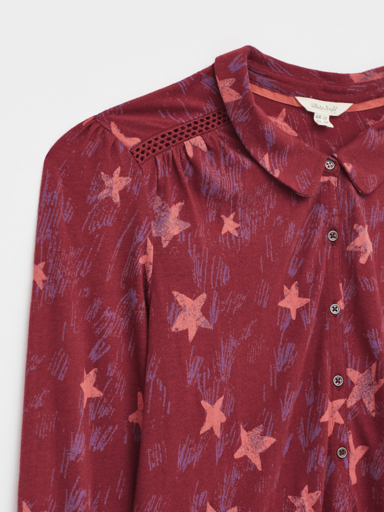 Loganberry Collared Shirt
