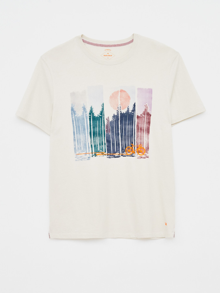 Pedal Organic Graphic Tee