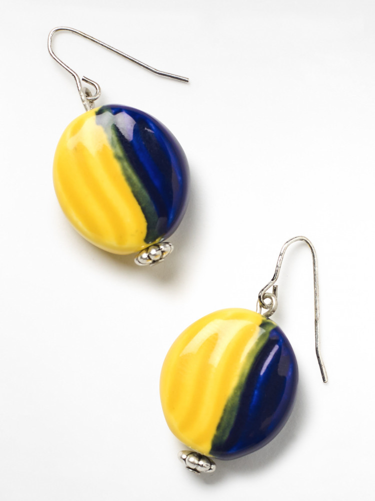 Sunshine Ceramic Earrings