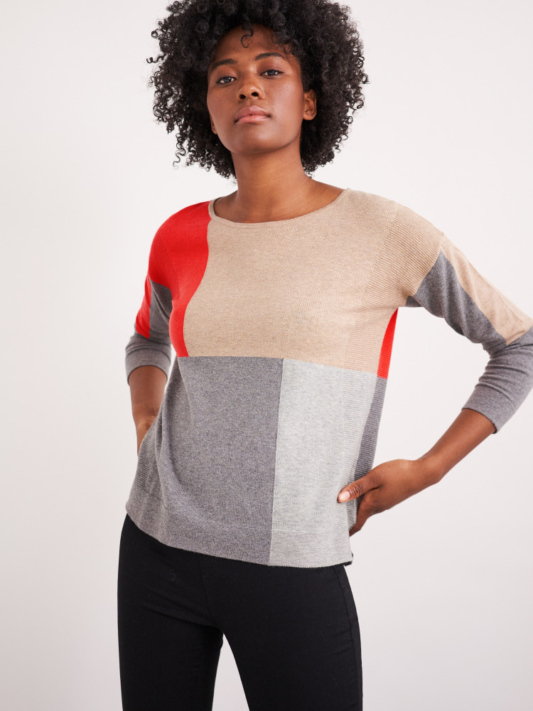Olivia Colourblock Jumper